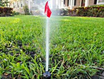 Lawn Irrigation Sprinkler Repair