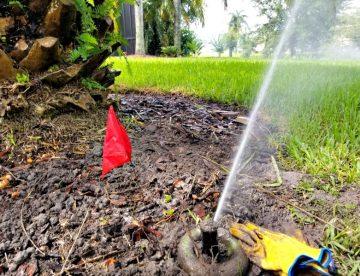 Lawn Sprinkler Repair Services
