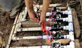 Sprinkler valve assembly