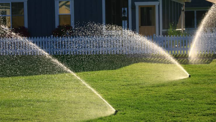 How to repair a sprinkler system?